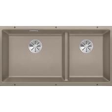Кухонная мойка Blanco Subline 480/320-U Silgranit PuraDur (серый беж)