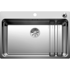 Мойка для кухни Blanco ETAGON 700-IF/A нерж.сталь зеркальная полировка с кл.-авт. InFino