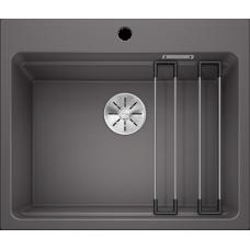 Кухонная мойка Blanco Etagon 6 Silgranit PuraDur (темная скала)