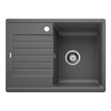 Кухонная мойка Blanco Zia 45S Compact Silgranit PuraDur (темная скала)