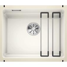 Мойка для кухни Blanco ETAGON 500 - U PuraPlus (глянцевый белый)