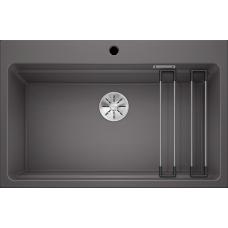 Кухонная мойка Blanco Etagon 8 Silgranit PuraDur (темная скала)
