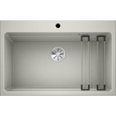 Кухонная мойка Blanco Etagon 8 Silgranit PuraDur (жемчужный)