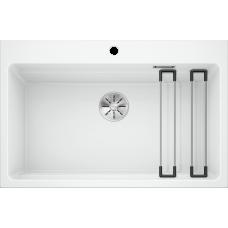 Кухонная мойка Blanco Etagon 8 Silgranit PuraDur (белый)