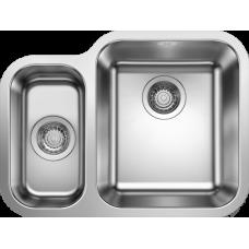 Мойка для кухни Blanco SUPRA 340/180-U нерж.сталь полированная с правая с клапаном-автоматом