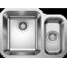 Мойка для кухни Blanco SUPRA 340/180-U нерж.сталь полированная с клапаном левая-автоматом