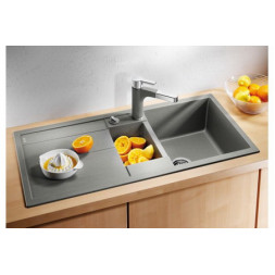Кухонная мойка Blanco Metra 6 S Silgranit PuraDur (алюметаллик)