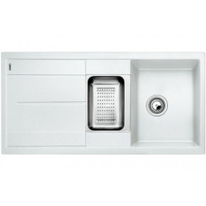 Мойка для кухни Blanco METRA 6 S SILGRANIT белый с клапаном-автоматом