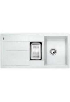Кухонная мойка Blanco Metra 6 S Silgranit PuraDur (белый)