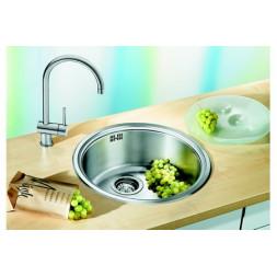 Кухонная мойка Blanco Rondosol Нержавеющая сталь (сталь декор)