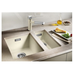 Кухонная мойка Blanco Subline 160-U Silgranit PuraDur (антрацит)