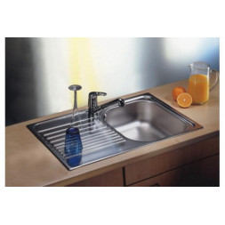 Кухонная мойка Blanco Tipo 45S Compact Нержавеющая сталь (сталь полированная)