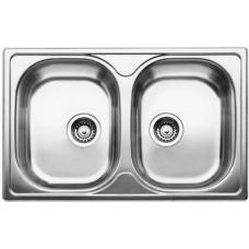 Кухонная мойка Blanco Tipo 8 Compact Нержавеющая сталь (сталь матовая)