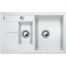 Кухонная мойка Blanco Metra 6 S Compact Silgranit PuraDur (белый)