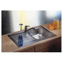 Кухонная мойка Blanco Tipo 45S Compact Нержавеющая сталь (сталь декор)