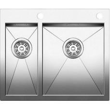 Кухонная мойка Blanco Zerox 340/180-If/А Нержавеющая сталь (сталь с зеркальной полировкой)