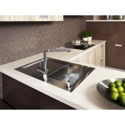 Кухонная мойка Blanco Zerox 4 S-If Нержавеющая сталь (сталь с зеркальной полировкой)