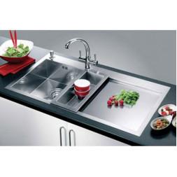 Кухонная мойка Blanco Zerox 6 S-If Нержавеющая сталь (сталь с зеркальной полировкой)