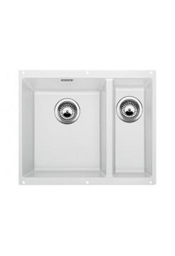 Кухонная мойка Blanco Subline 340/160-U Silgranit PuraDur (белый)