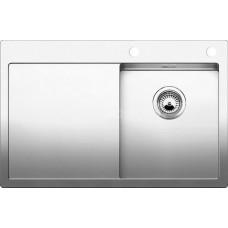 Мойка для кухни Blanco CLARON 4 S-IF (чаша справа) нерж. сталь зеркальная полировка с клапаном-автоматом