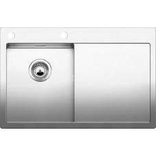 Мойка для кухни Blanco CLARON 4 S-IF (чаша слева) нерж. сталь зеркальная полировка с клапаном-автоматом