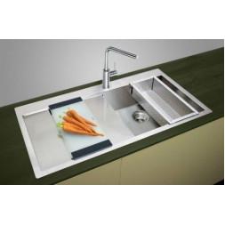 Кухонная мойка Blanco Claron 5 S-If/А Нержавеющая сталь (сталь с зеркальной полировкой)
