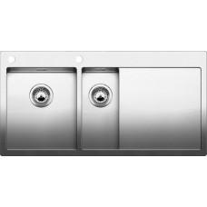 Кухонная мойка Blanco Claron 6 S-If/А Нержавеющая сталь (сталь с зеркальной полировкой)