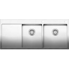 Мойка для кухни Blanco CLARON 8 S-IF (чаша справа) нерж. сталь зеркальная полировка с клапаном-автоматом