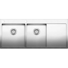 Мойка для кухни Blanco CLARON 8 S-IF (чаша слева) нерж. сталь зеркальная полировка с клапаном-автоматом