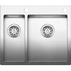 Мойка для кухни Blanco CLARON 340/180-IF A нерж. сталь зеркальная полировка с клапаном-автоматом
