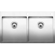 Мойка для кухни Blanco CLARON 400/400-IF A нерж. сталь зеркальная полировка с клапаном-автоматом