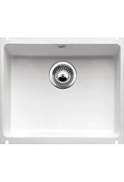 Кухонная мойка Blanco Subline 500-U Керамика (глянцевый белый )