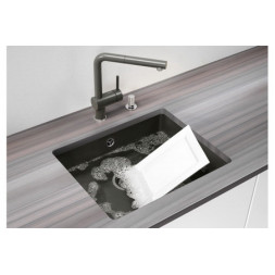 Кухонная мойка Blanco Subline 500-U Керамика PuraPlus (матовый белый)