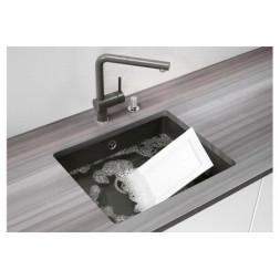 Кухонная мойка Blanco Subline 500-U Керамика PuraPlus (серый алюминий)