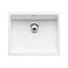 Кухонная мойка Blanco Subline 500-U Керамика PuraPlus (глянцевый белый)