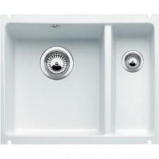 Кухонная мойка Blanco Subline 350/150-U Керамика (глянцевый белый )