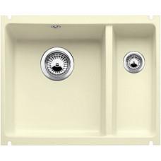 Мойка для кухни Blanco SUBLINE 350/150-U Сeramic жасмин PuraPlus с клапаном-автоматом