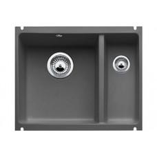 Мойка для кухни Blanco SUBLINE 350/150-U Сeramic черный PuraPlus с клапаном-автоматом