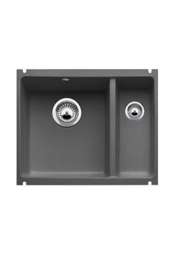 Кухонная мойка Blanco Subline 350/150-U Керамика PuraPlus (черный)