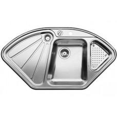 Кухонная мойка Blanco Delta-If Нержавеющая сталь (сталь с зеркальной полировкой)
