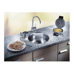Кухонная мойка Blanco Rondosol-If Нержавеющая сталь (сталь полированная)