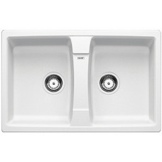 Кухонная мойка Blanco Lexa 8 Silgranit PuraDur (белый)