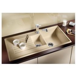 Кухонная мойка Blanco Zia 6 S Silgranit PuraDur (алюметаллик)