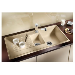 Кухонная мойка Blanco Zia 6 S Silgranit PuraDur (жасмин)