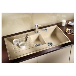 Кухонная мойка Blanco Zia 6 S Silgranit PuraDur (шампань)