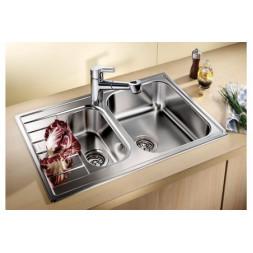 Кухонная мойка Blanco Livit 6 S Compact Нержавеющая сталь (сталь полированная)