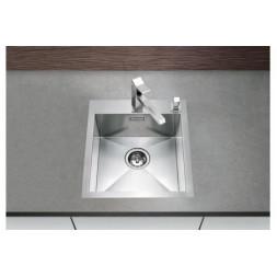 Кухонная мойка Blanco Zerox 400-If/А Нержавеющая сталь (сталь с зеркальной полировкой)