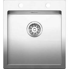 Кухонная мойка Blanco Claron 400-If/А Нержавеющая сталь (сталь с зеркальной полировкой)