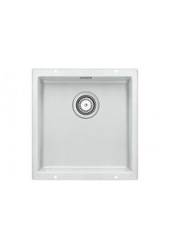 Кухонная мойка Blanco Subline 400-U Silgranit PuraDur (белый)