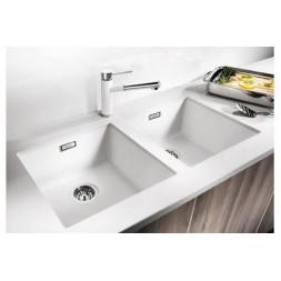 Кухонная мойка Blanco Subline 400-U Silgranit PuraDur (жасмин)